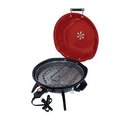 Better Chef – 15″ Tabletop Electric Grill – Red/Black
