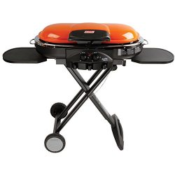 Coleman RoadTrip LXE Portable Propane Grill, Orange