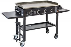Blackstone 36 inch Outdoor Flat Top Gas Grill Griddle Station – 4-burner – Propane F ...