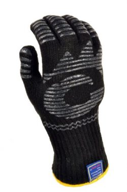 G & F 1682 Dupont Nomex Heat Resistant gloves for cooking, grilling, fireplace and oven, Bar ...