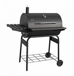 Smoke Hollow SH3020 30-inch Barrel Charcoal Grill 542 sq. inch Cooking Area, Black