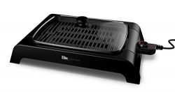 "Smart & Healthy XL Indoor Electric Grill EGL-6501 By Elite Platinum – 12"" x 16"" Nonstick Gri ..."