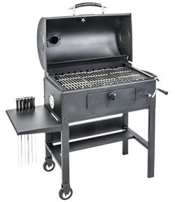 Blackstone 3-in-1 Kabob Charcoal Grill, Barbecue, Smoker,  With Automatic Rotisserie