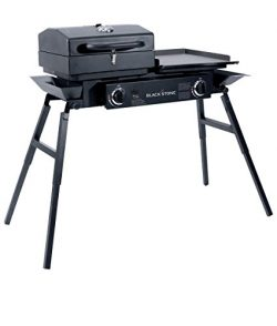 Blackstone Grills Tailgater – Portable Gas Grill and Griddle Combo – Barbecue Box &# ...