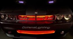 OCTANE LIGHTING 4 12″ Red Car Truck Rv Grill Hood 15 Led Under Glow Waterproof Light Bulb  ...