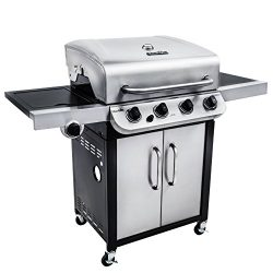Char-Broil Performance 475 4-Burner Cabinet Liquid Propane Gas Grill- Stainless