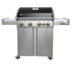Napoleon T495SBNK Triumph Natural Gas  with 4 Burners, Black and Stainless Steel