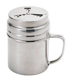 Elizabeth Karmel's Adjustable Dry Rub Shaker with Holes for Medium and Coarse Grind Seasonings,  ...