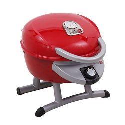 Char-Broil TRU Infrared Patio Bistro 180 Electric Grill, Red