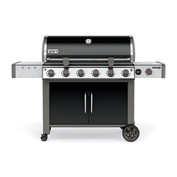 Weber 68014001 Genesis II LX E-640 Natural Gas Grill, Black
