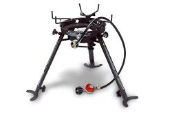Eastman Outdoors Portable Kahuna Burner with XL Pot and Wok Brackets with Adjustable and Removab ...