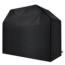 Homitt Gas Grill Cover, 58-inch 600D Heavy Duty Waterproof BBQ Grill Cover for Most Brands of Gr ...