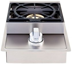 Lion Premium Grills L5631 Natural Gas Single Side Burner, 20-1/2 by 12-1/2-Inch