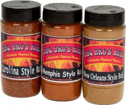BBQ BROS RUBS {Southern Style} – Ultimate Barbecue Spices Seasoning Set – Use for Gr ...