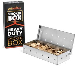 Grillaholics Smoker Box, #1 Meat Smokers Box in Barbecue Grilling Accessories, Add Smokey BBQ Fl ...