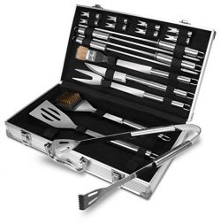 BBQ Grilling Tool Set – BBQ Accessories – Premium Stainless Steel Construction ̵ ...