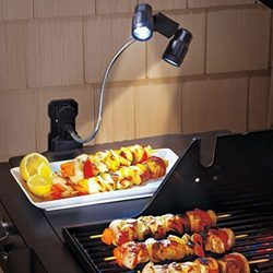 Barbecue Adjustable Super Bright LED Light for Outdoor Grilling, Versatile Touch Sensitive Batte ...