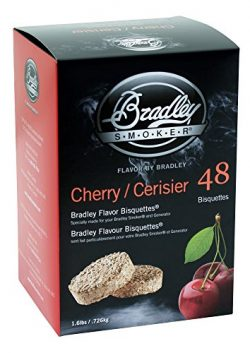 Bradley Cherry Bisquettes 48 pack