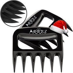 Pulled Pork Claws & Meat Shredder – BBQ Grill Tools and Smoking Accessories for Carvin ...