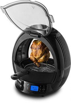 Gourmia GMF2600 – 9 In 1 Air Fryer & Multicooker, Halogen Powered Vertical Rotisserie  ...