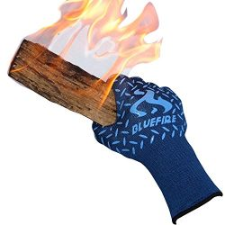 BlueFire Pro Heat Resistant Gloves – Oven – BBQ Grilling – Big Green Egg ̵ ...