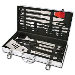Chefs Basics Select Stainless Steel BBQ Set (18-Piece)
