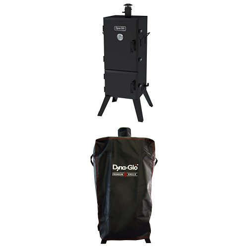 Dyna Glo Dgx780bdc D 36 Vertical Charcoal Smoker And Premium Smoker