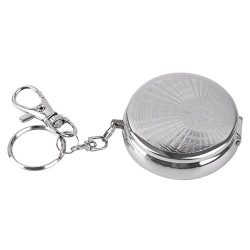 Gilroy Stainless Steel Portable Ashtray, Cigarette Ashtray For Outdoor Use, Ash Holder For Smoke ...
