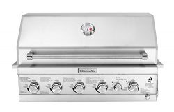 KitchenAid 740-0781 Built-in Propane Gas Grill Head, Stainless