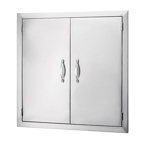 Outdoor Kitchen Access Doors: Happybuy BBQ Access Door Double Wall Construction 24W X