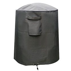 M&H Kettle Grill Cover, Heavy Duty Waterproof BBQ Smoker Grill Cover, 29 inch Small, Premium ...