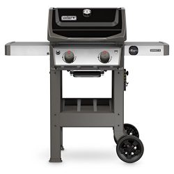 Weber 44010001 Spirit II E-210 LP Outdoor Gas Grill, Black