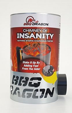 Chimney of Insanity Charcoal Starter – The Fastest and Easiest Charcoal Chimney Starter fo ...
