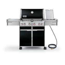 Weber Summit 7271001 E-470 580-Square-Inch 48,800-BTU Natural-Gas Grill, Black