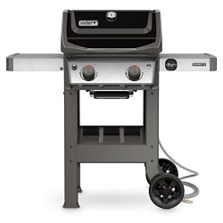 Weber 48010001 Spirit II E-210 NG Outdoor Gas Grill, Black
