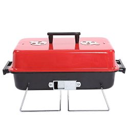 Portable Charcoal Grill Outdoor thickened Stainless Steel Charcoal Grill
