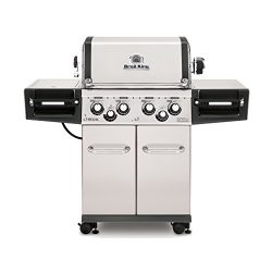 Broil King Regal S490 Pro – Stainless Steel – 4 Burner Natural Gas Grill l