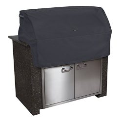 Classic Accessories 55-398-020401-EC Ravenna Cover for Built-In Grills, Black (Small)