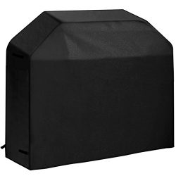 VicTsing BBQ Gas Grill Cover Heavy Duty Waterproof Cover with Velcro Secure Straps for Brinkmann ...