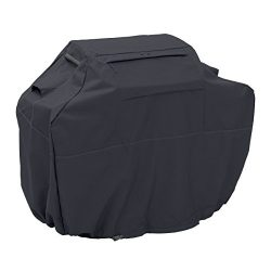 Classic Accessories Ravenna Grill Cover – Premium BBQ Cover with Reinforced Fade-Resistant ...