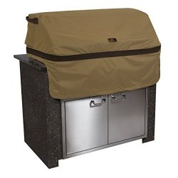 Classic Accessories Hickory Heavy Duty Built-In BBQ Grill Top Cover – Rugged BBQ Cover wit ...