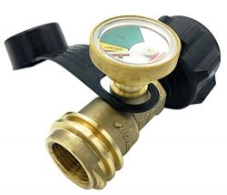 Premium Gauge Master Propane Tank Gas Meter – Cylinder Gas Level Indicator Adapter – ...