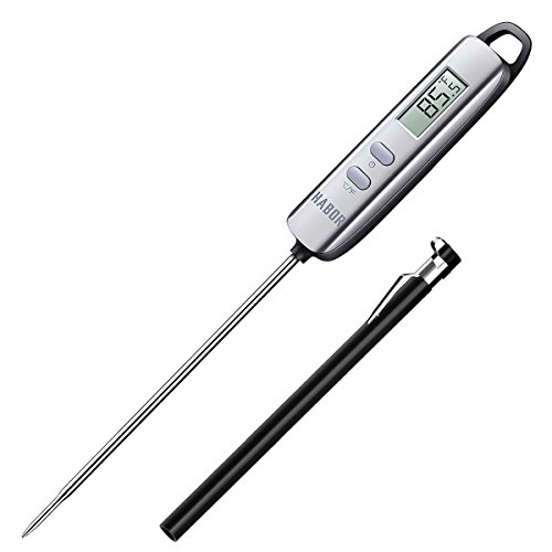 Meat Thermometer, Habor Digital Meat Thermometer Instant Read Thermometer Candy Thermometers wit ...