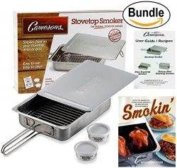 Cameron's Stovetop Smoker – Stainless Steel Indoor/Outdoor Smoker – Works On A ...