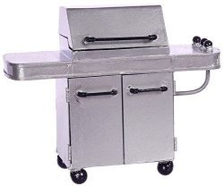 Dollhouse Miniature Gas Grill