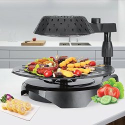 Cook@Home 3D Electric Smokeless Bio Infrared BBQ Grill – No Oil, No Thawing, No Smoke