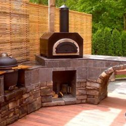 Chicago Brick Oven CBO-500 Countertop Outdoor Wood Fired Pizza Oven – Copper