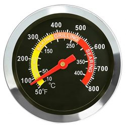 DozyAnt BBQ Barbecue Charcoal Grill Pit Wood Smoker Temperature Gauge Grill Pit Thermometer Fahr ...