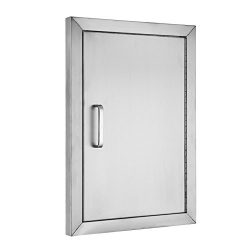 BestEquip BBQ Island 304 Stainless Door Single Access BBQ Door 14x20inch Single Door Flush Mount ...