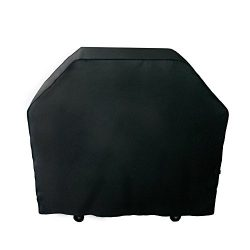 Nextcover Universal Gas Grill Cover, 58 inch 600D Canvas Heavy Duty Waterproof Fade Resistant BB ...
